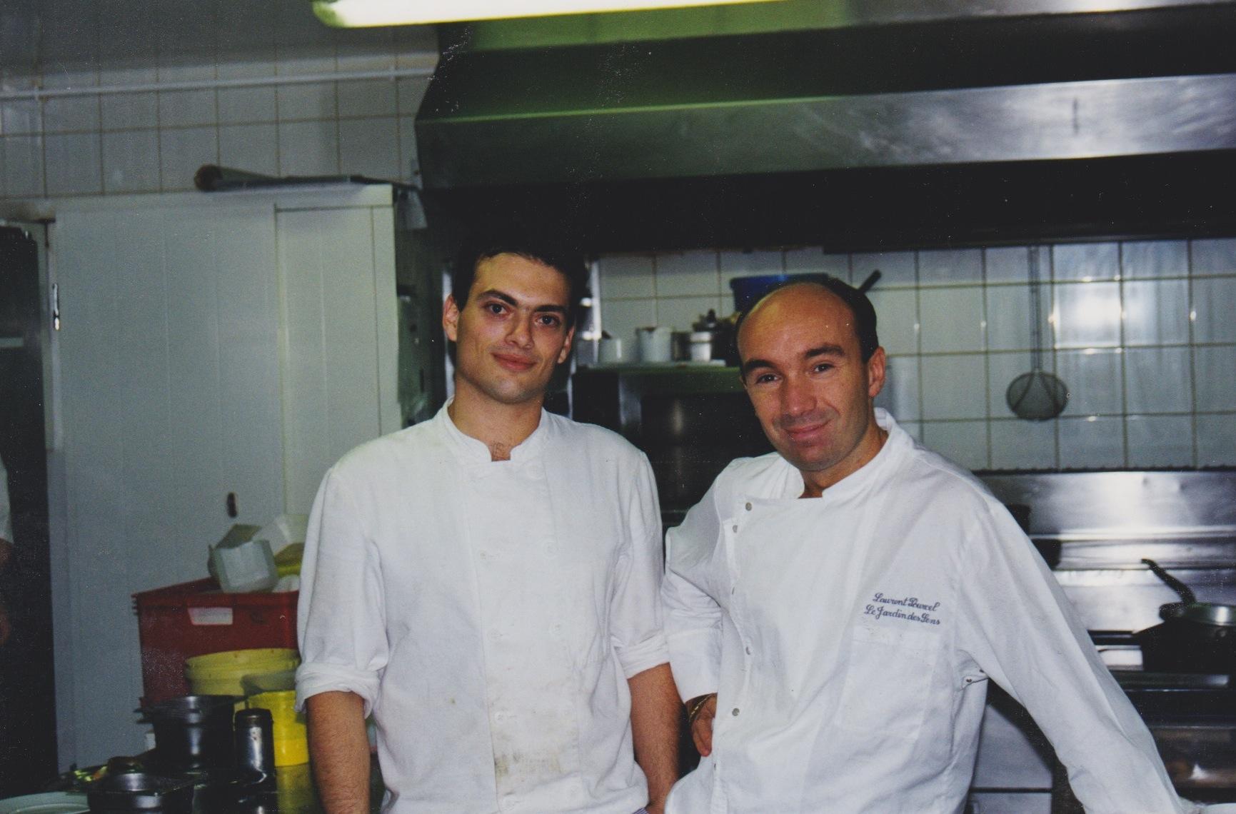 עם לורן פורסל, ג׳רדאן דה סנס במונפלייה...